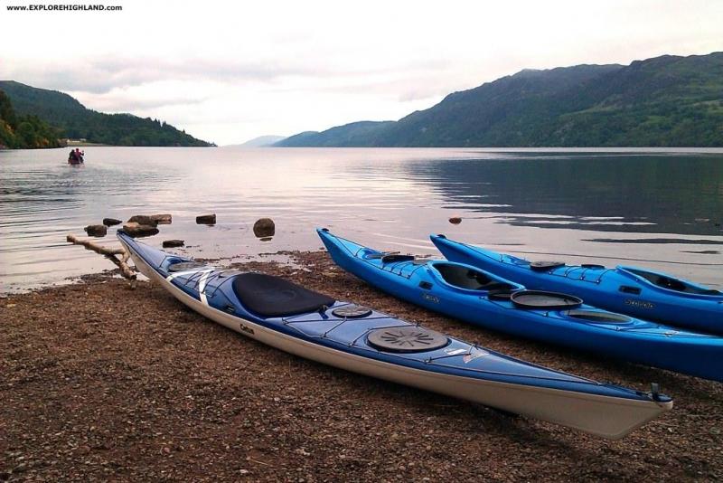 Kayak Loch Ness