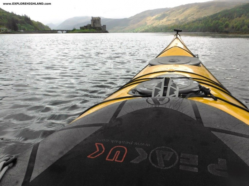 Sea Kayaking around Eilean Donan Castle