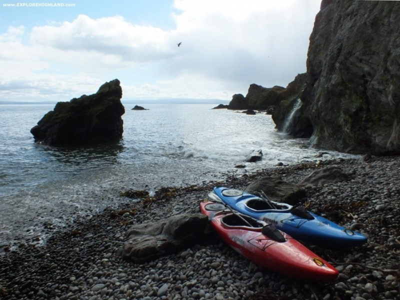 Kayaking by Cromarty