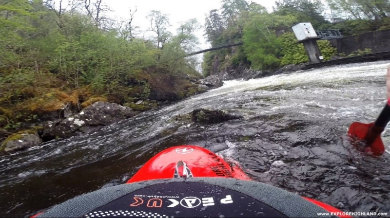 River Garry Playboating