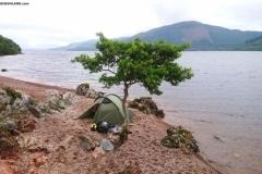 Wild Camping Loch Ness