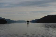 SUP Loch Ness