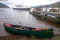 Canoeing Loch Ness