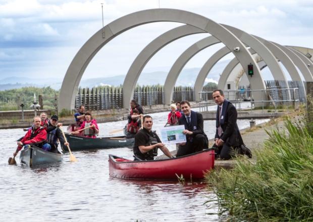 Glasgow to Edinburgh Canoe Trail Launch