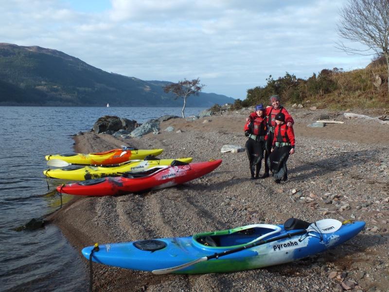 Touring Loch Ness by kayak