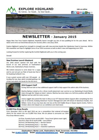 Newsletter Jan 15 cover