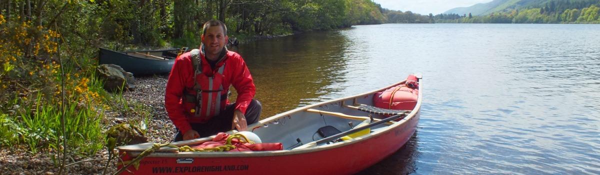 Explore-highland-Donald-Macpherson-canoeing-loch-dochfour-1200×350