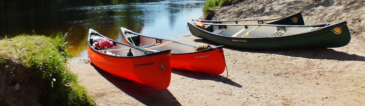 River Spey canoe adventure