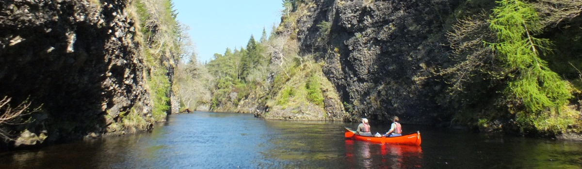 Canoeing River Beauly