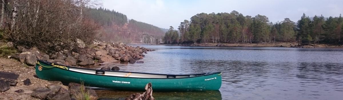 Glen Affric canoe hire