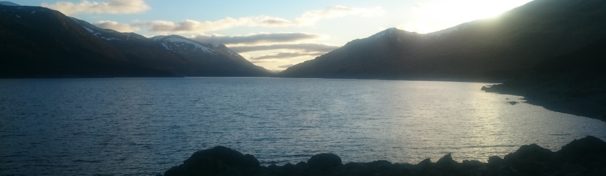 Loch Mullardoch in Glen Cannich
