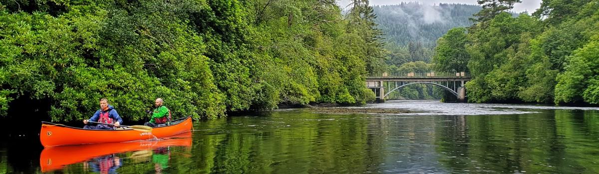 Canoe Eilean Aigas Bridge 1200×350
