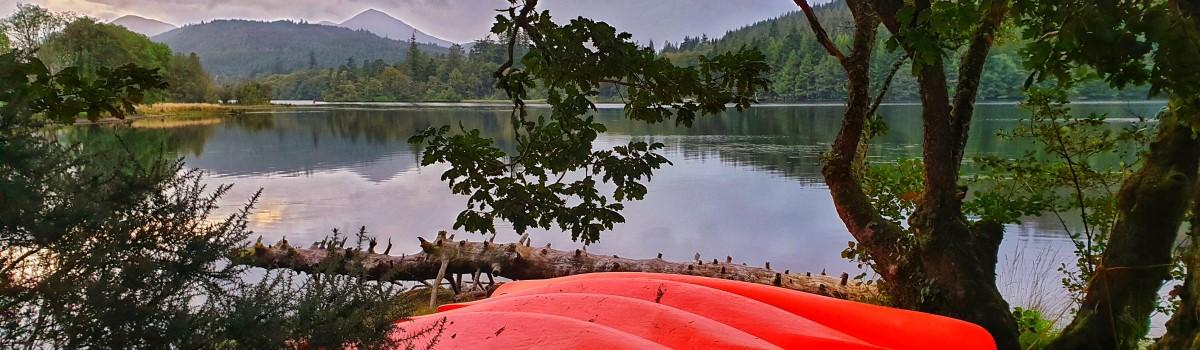 Canoe Loch Oich Leitterfearn 1200×350