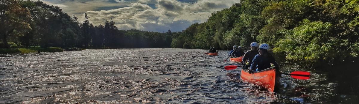 Canoe River Ness 1200×350