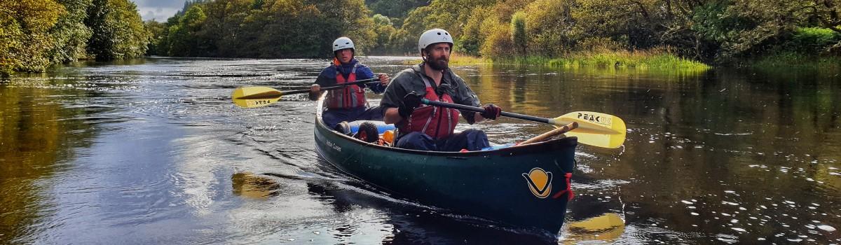 Canoe River Oich 1200×350