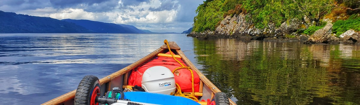 Canoe South Loch Ness 1200×350