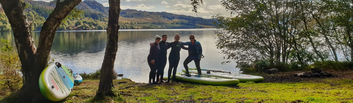 SUP Loch Duntelchaig Group 1200×350