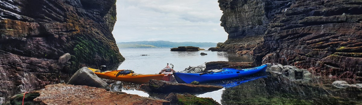 Sea Kayaks Spar Cave 1200×350