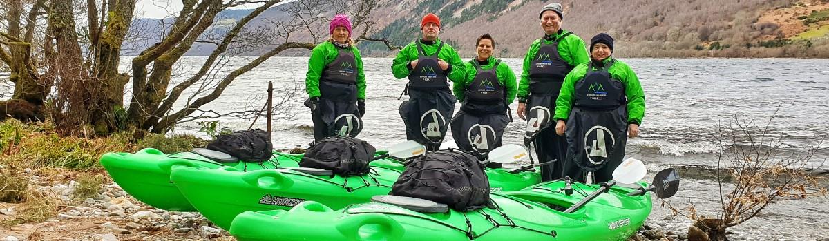 Tandem Sea Paddle Loch Ness 2 1200×350