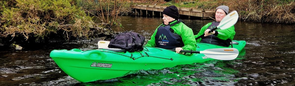 Tandem Sea Paddle Loch Ness 3 1200×350