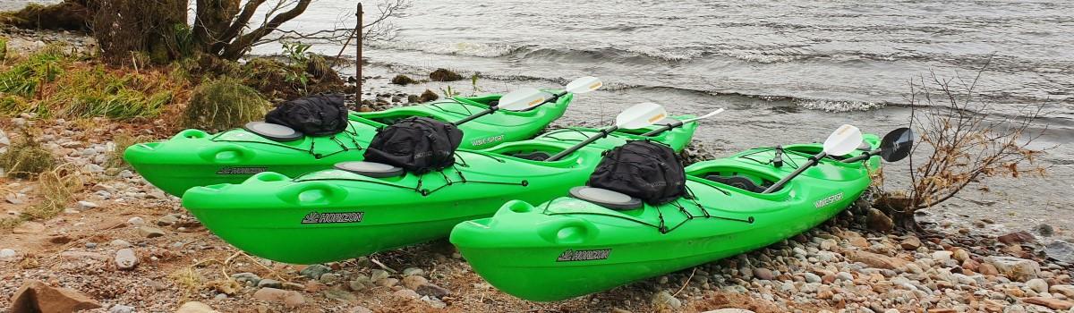 Tandem Sea Paddle Loch Ness 4 1200×350