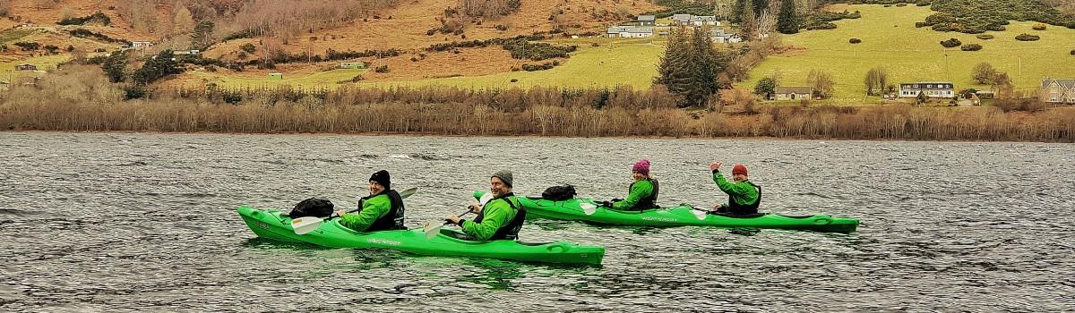 Tandem Sea Paddle Loch Ness 5 1200×350
