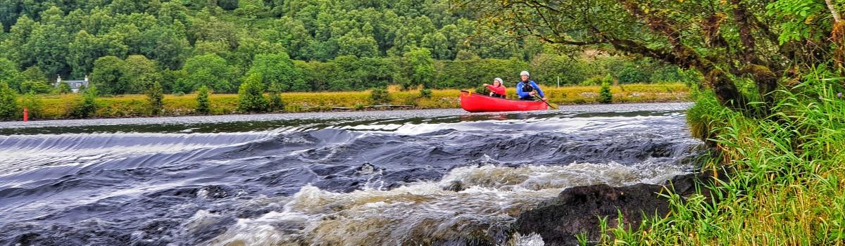 Hou Canoe Oich Weir