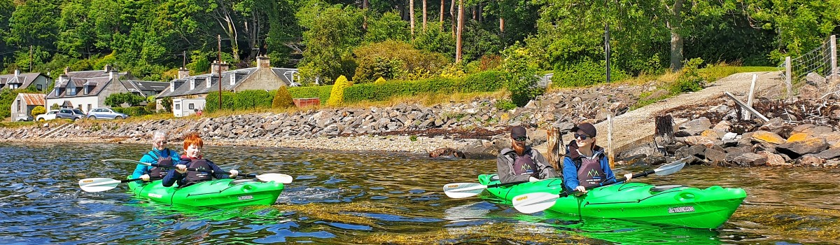 Tandem Sea Kayak 1