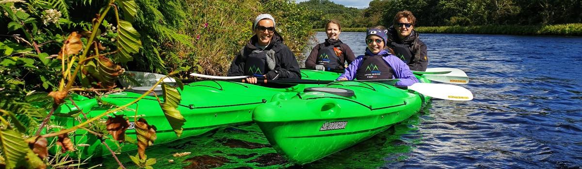 Tandem Sea Kayak Caledonian Canal 1200×350