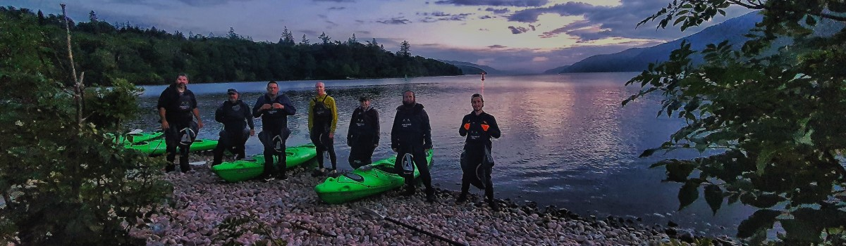 Tandem Sea Kayak Lochend Beach 1200×350