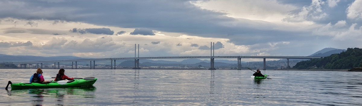 Tandem Sea Kayak Moray Firth 1 1200×350
