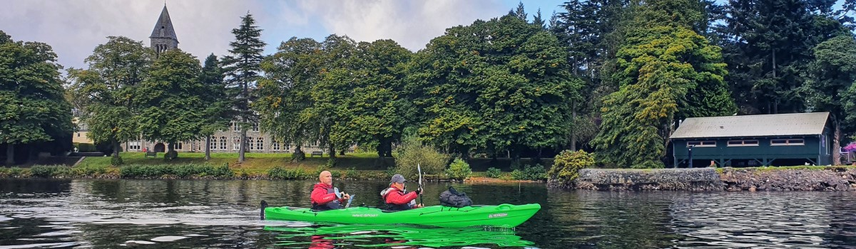 Tandem Sea Kayak at Fort Augustus 1200×350